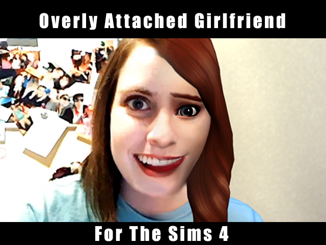Mod The Sims Overly Attached Girlfriend Laina Walker