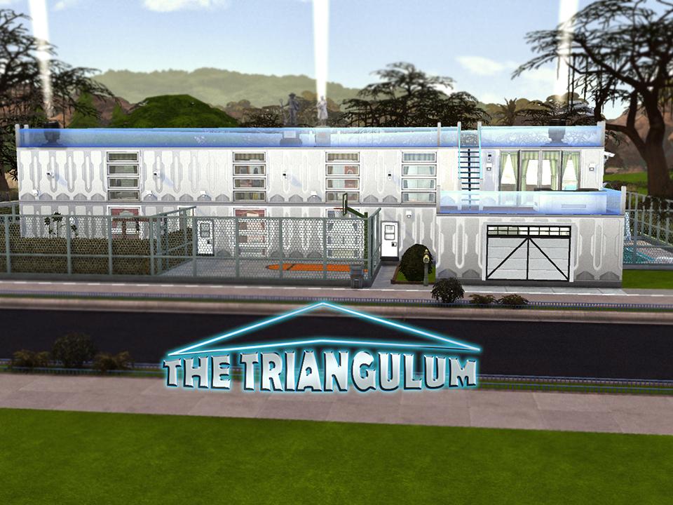 Дом Треугольник