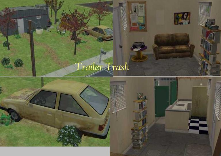 D And D Trailers >> Mod The Sims - Trashed Trailer home