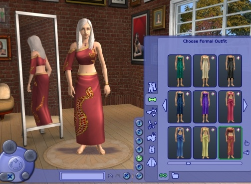 Advertisement. Mod The Sims   All Adult Y A  Clothes made available for Young