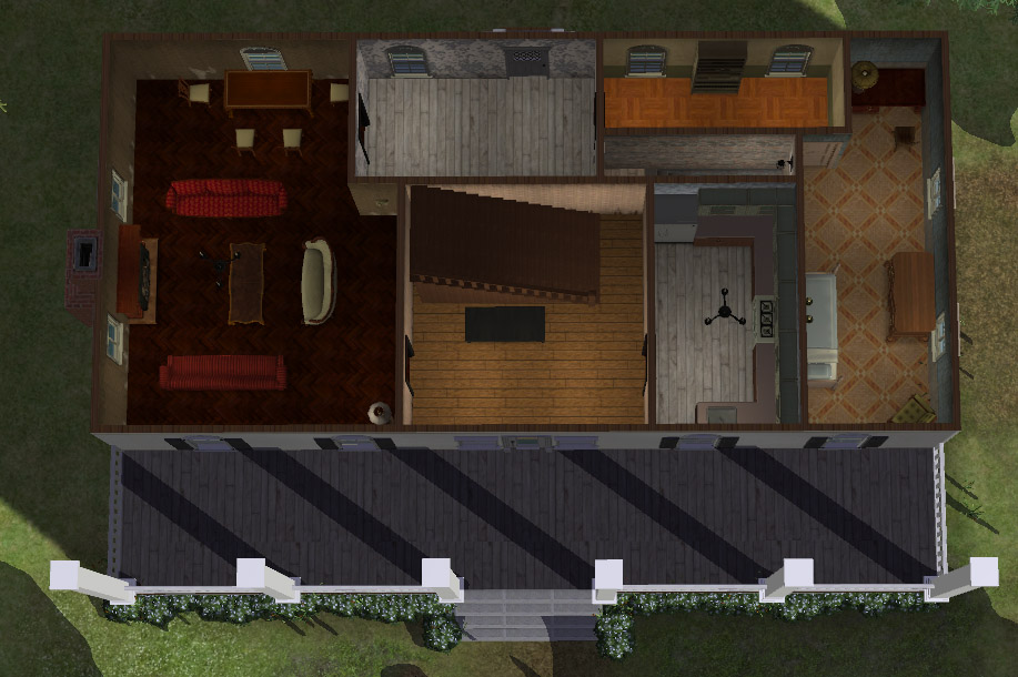 Mod The Sims - Bill's House from True Blood
