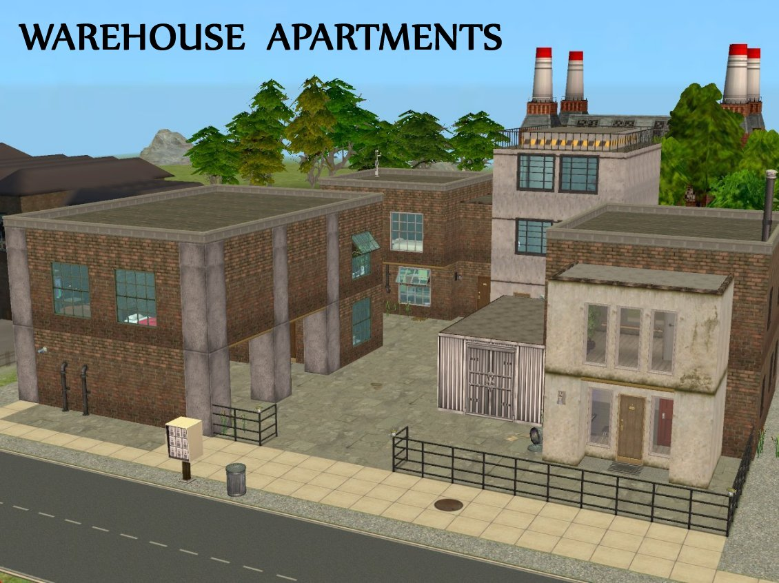 Mod the sims warehouse apartments - The apartment in the warehouse ...
