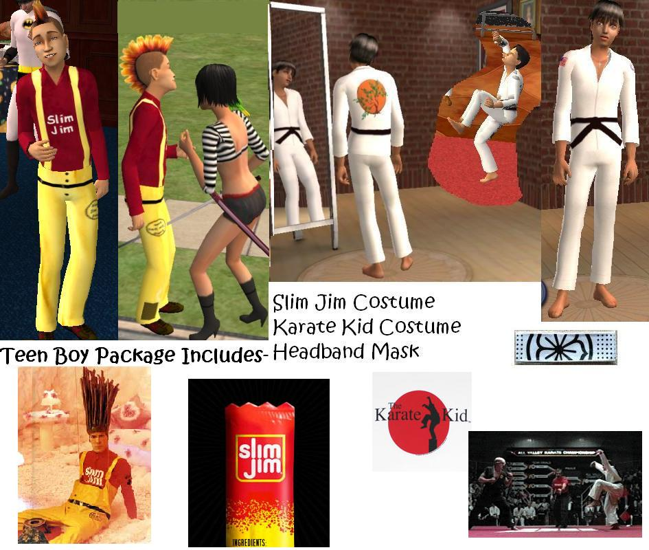 x & Mod The Sims - Halloween Costumes for All Ages