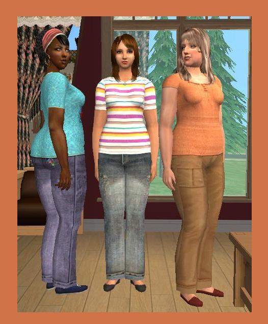 Mod The Sims - Comfy-Cas for the Mamas