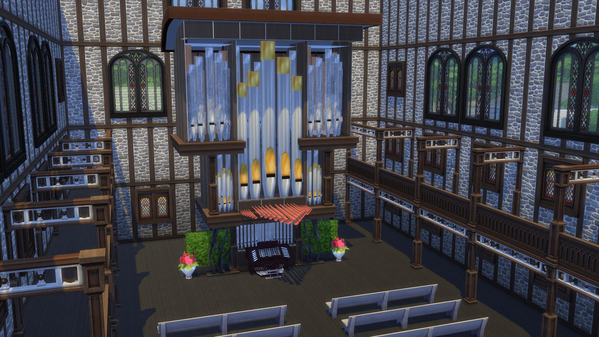 Mod The Sims - Modular Pipe Organ 3