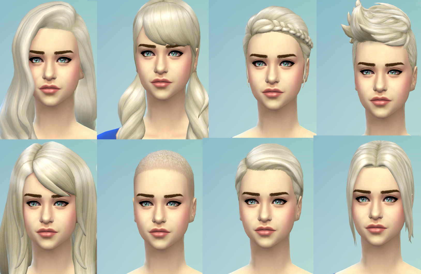 Mod The Sims Targaryen Blonde New Non Default Colour For All