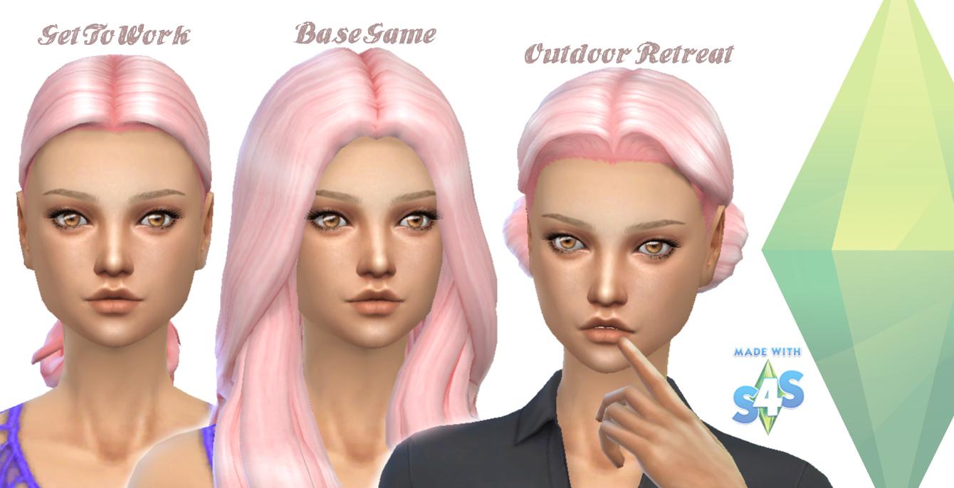 Sims 4 Mod Hair Colors - Advertisement