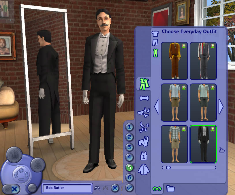 Mod The Sims - Apartment Life Hidden Butler Outfit Unlocked