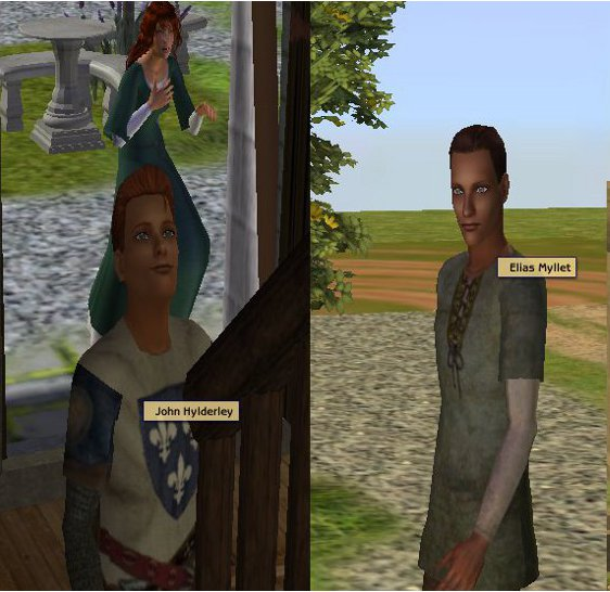 Mod The Sims - English Medieval Names: DEFAULT REPLACEMENT for