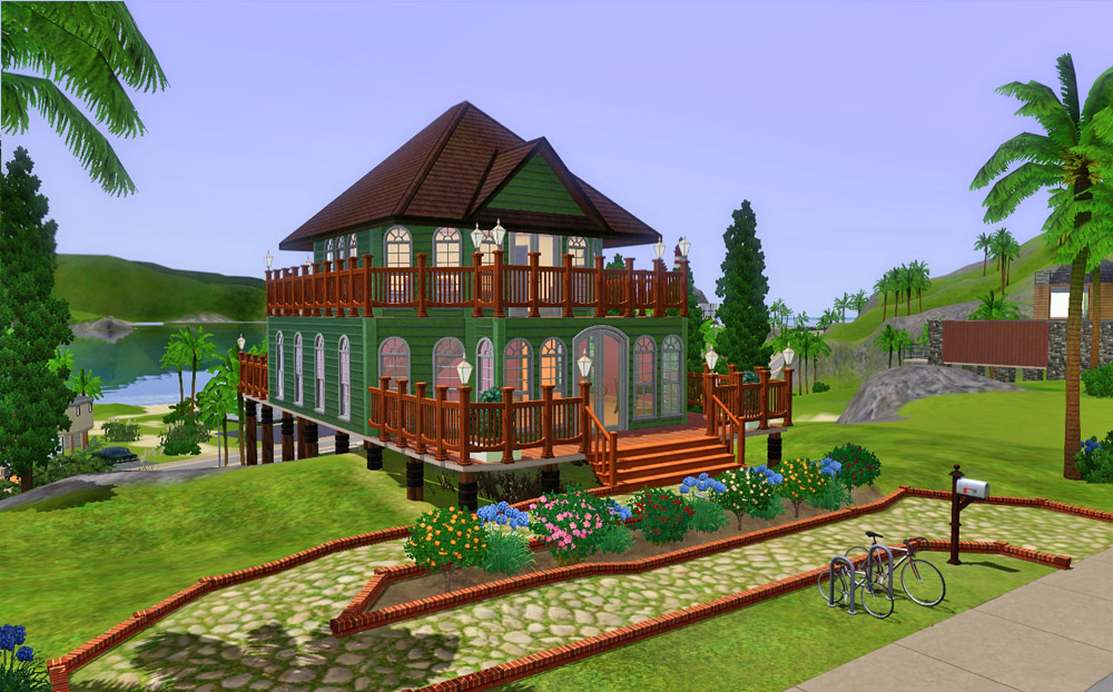Mod The Sims - A House on Stilts