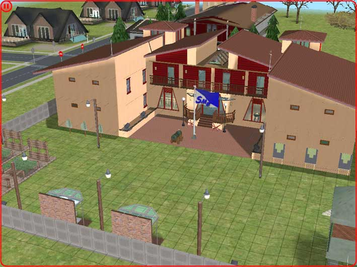 Mod The Sims Sim State Military School Dorm 8 Rooms