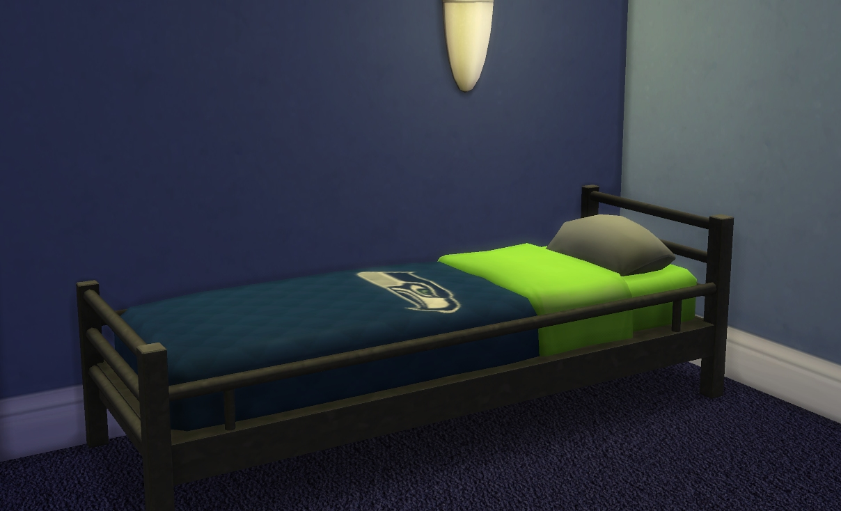 Nfl Bedroom Furniture Mod The Sims Nfl Bedspreads For Veranka Single Mattresses