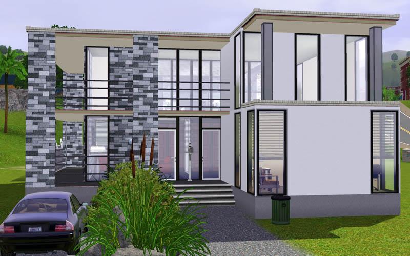 mod the sims  small modern beach house, sims 3 celebrity beach house (modern design), sims 3 celebrity beach house (modern design) download, sims 3 modern beach house