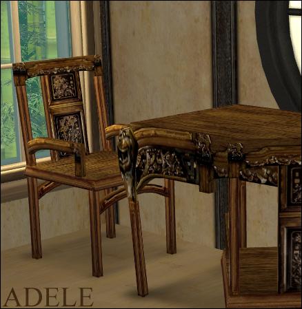 Ornate Kitchen Tables