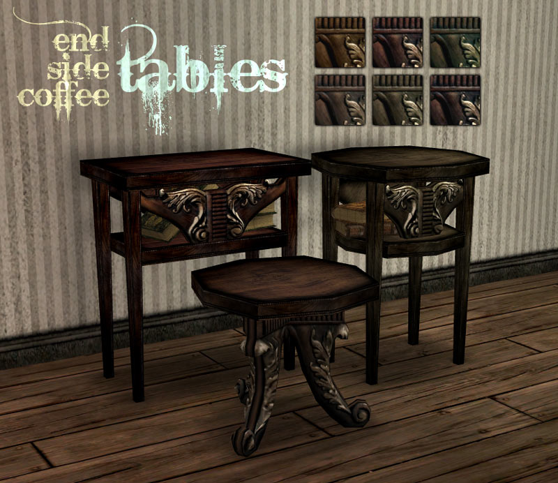 Mod The Sims Victorian Gothic Set