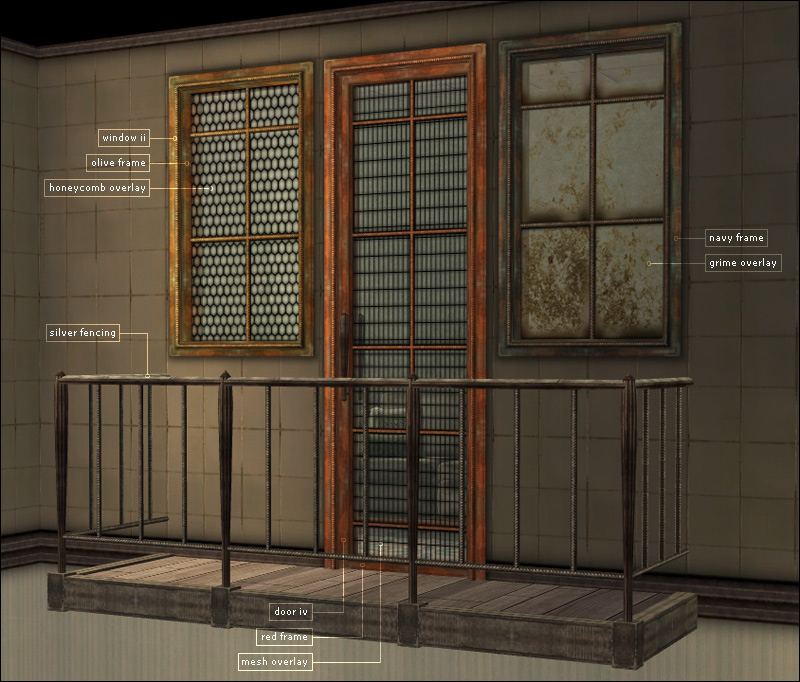 Mod the sims liam build set for 2 window