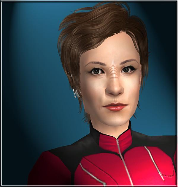 Mod The Sims - Star Trek: DS9 - Nana Visitor as Kira Nerys