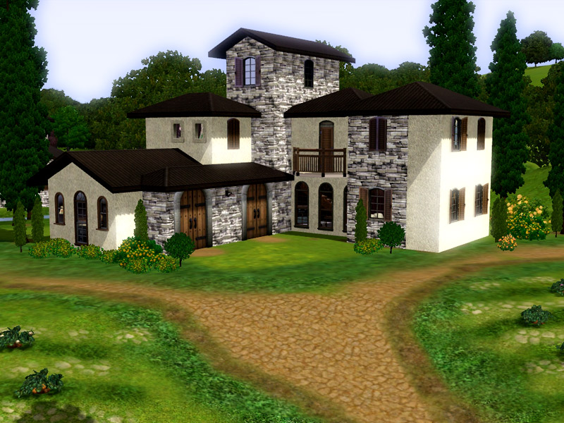 Mod the sims italian vineyard for 1 homes in italy