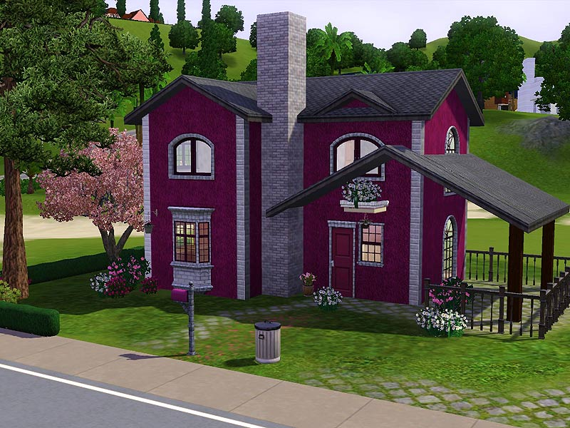Mod the sims villa orchidea for Case the sims 3 arredate