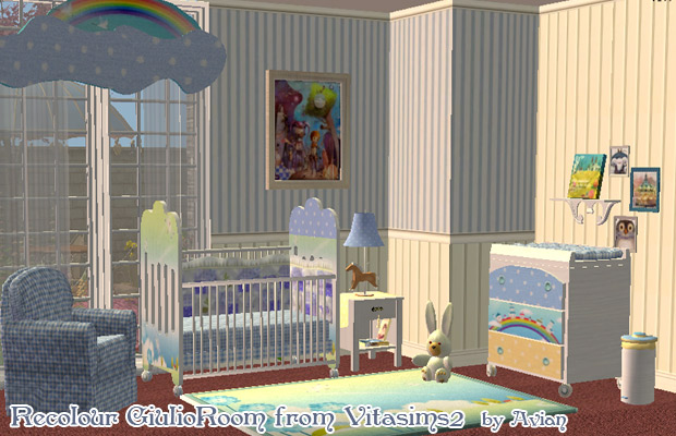 Mod The Sims Recolours Of Giulio Baby Room