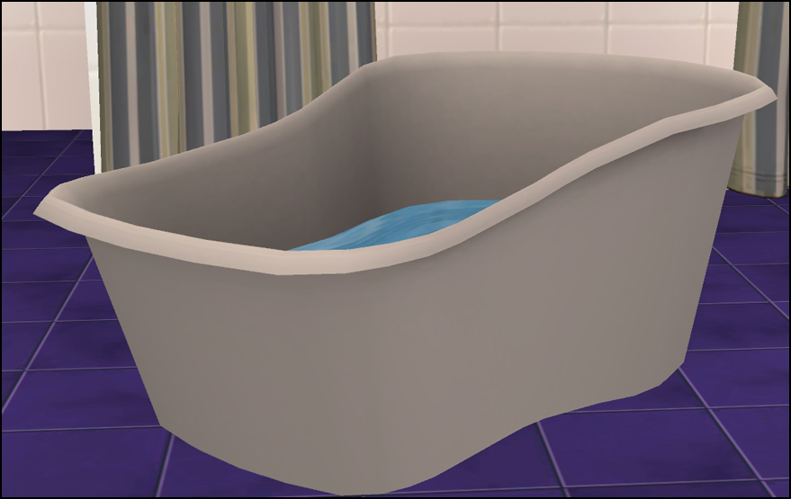 Mod The Sims - Rub-a-Dub Toddler Tub