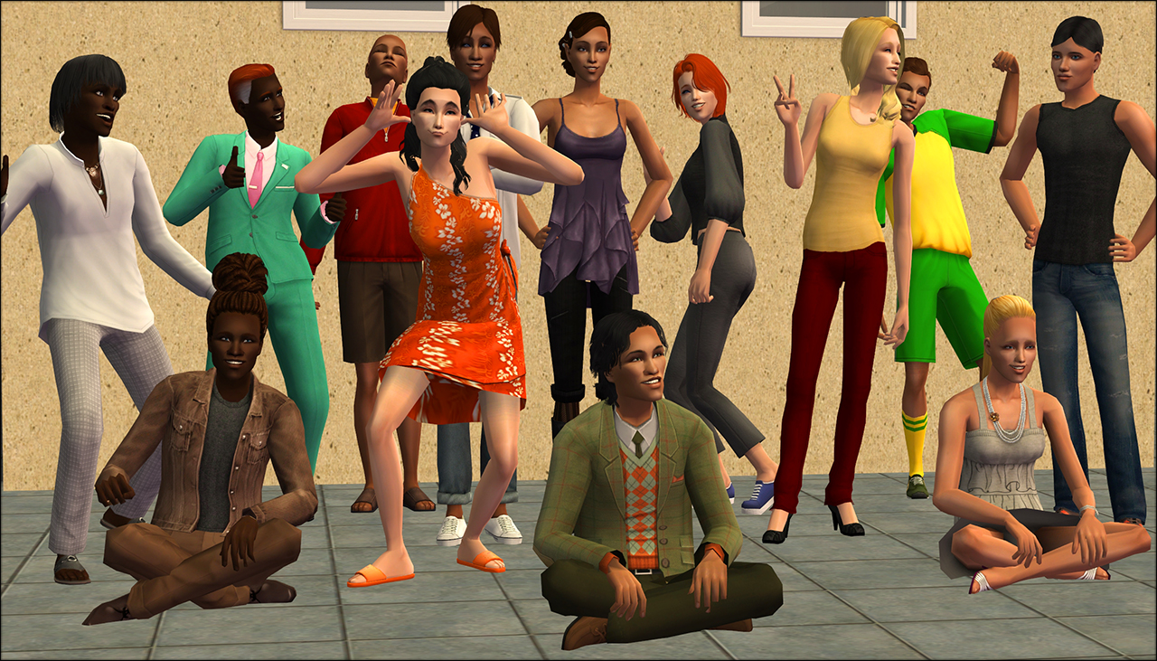 Mod The Sims - Townie Body Diversity