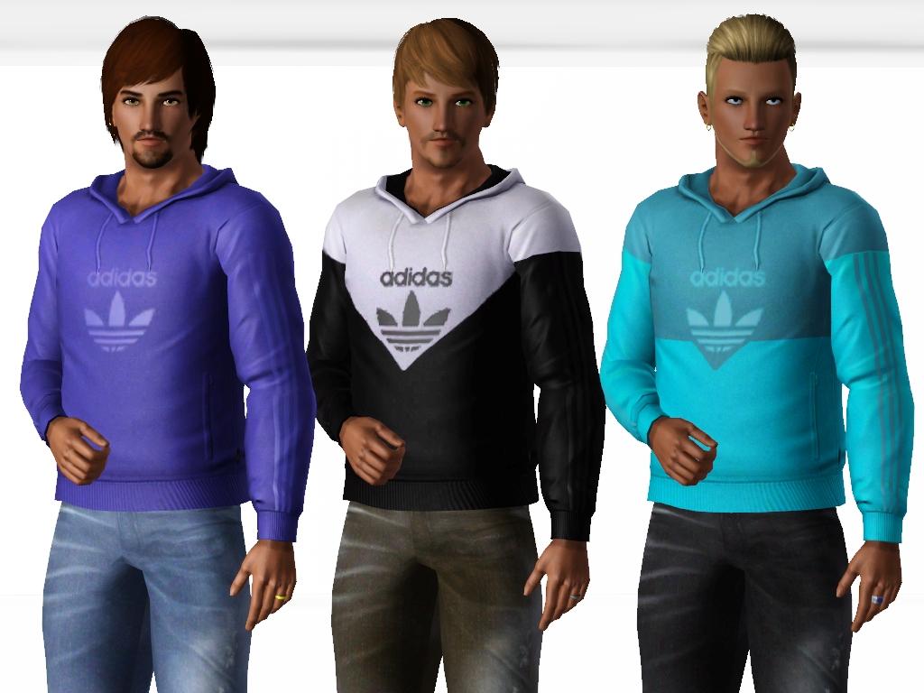 Yaa For Mod Adidas Males Hoodies Sims The WYeEDH9I2