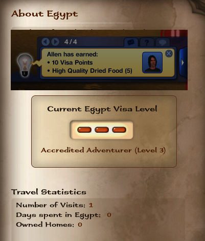 mod the sims visa level point requirement mod
