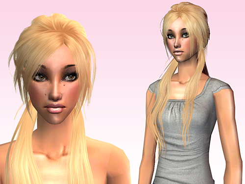 Mod The Sims Glamorous Hairby Tior Binned