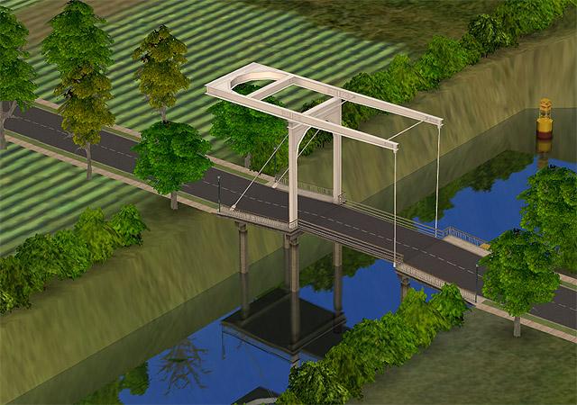 Как сделать мост в симс 3 фото 638