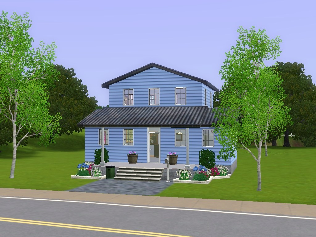 Mod the sims katrina cottage 633 for ts3 for Where can i buy a katrina cottage