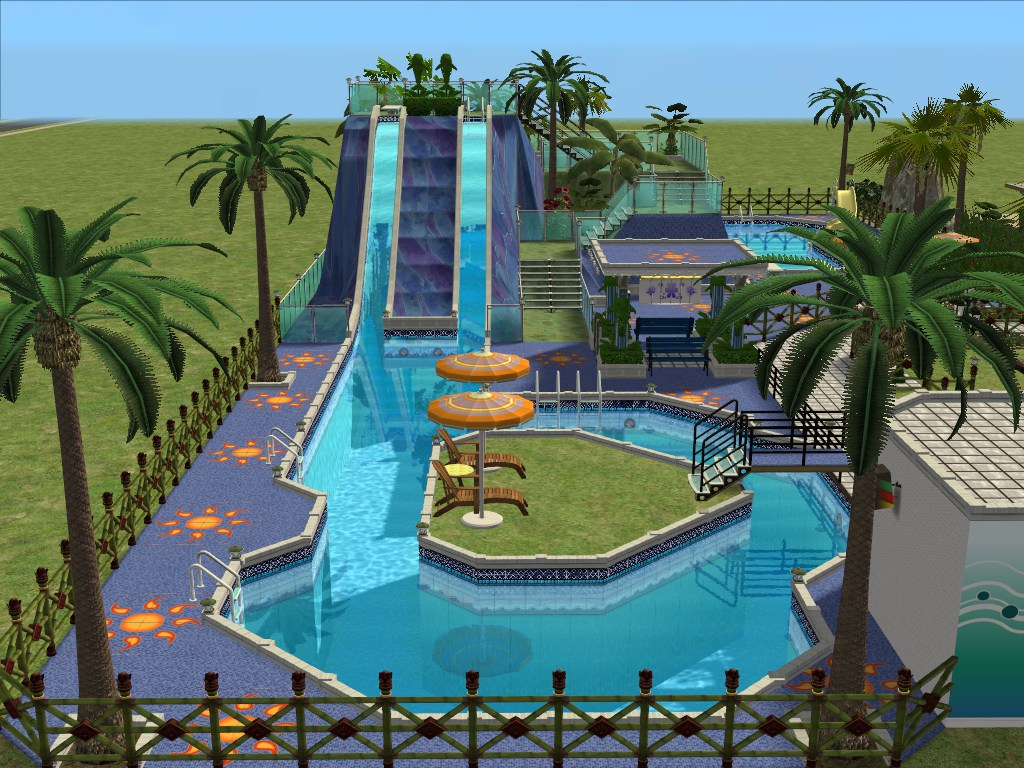 Mod the sims wet n wicked for Pool design sims 3