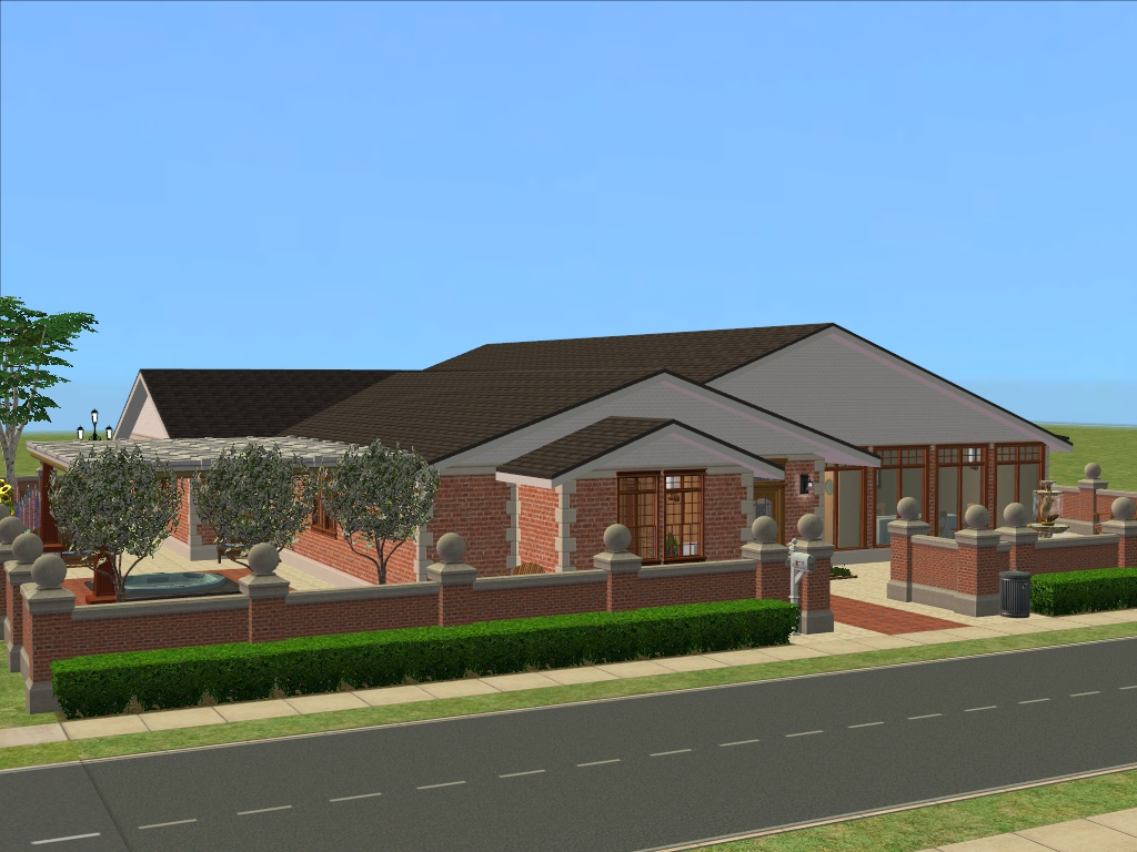 Mod the sims autumn winds retirement home for How to build a retirement home