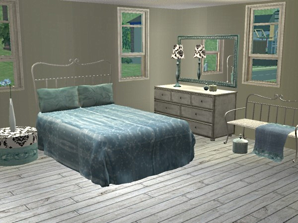Advertisement. Mod The Sims   Powder Blue   Silver Recolour of Simply Styling