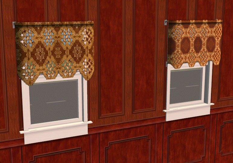 Mod The Sims - Testers Wanted: *UPDATED for EP* New lace curtains ...