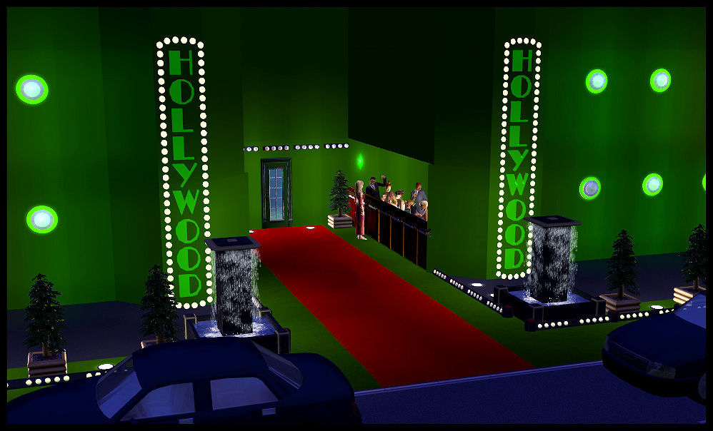 mod the sims old hollywood hollywood neon lights