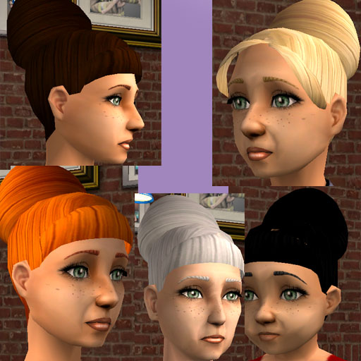 Incredible Mod The Sims Beehive Hair For All Ages New Colours Added Hairstyles For Men Maxibearus
