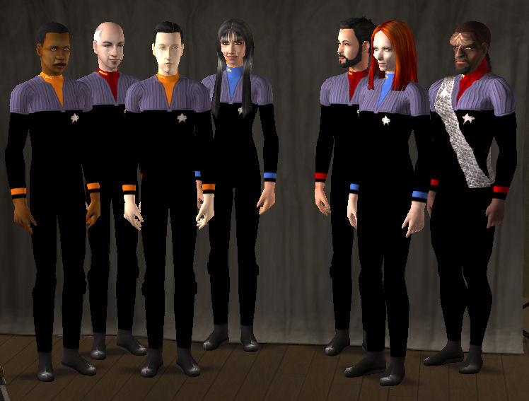 Mod The Sims Star Trek The Next Generation Movie Sims
