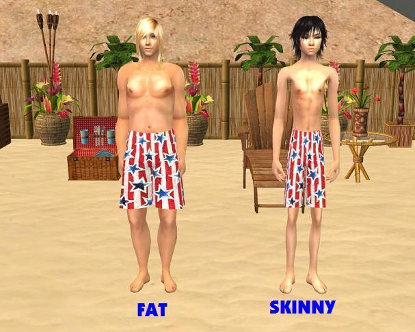 Teen sim fat can