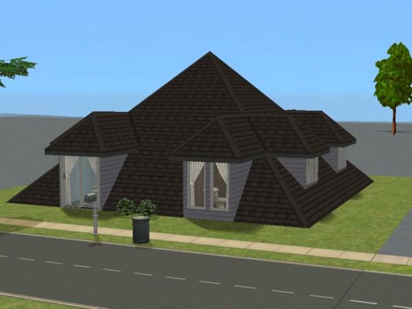 Mod The Sims Pyramid House No Cc