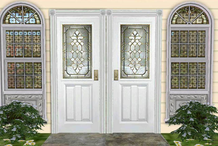 Mod The Sims UPDATED EP TESTERS WANTED 6 Entrance double doors