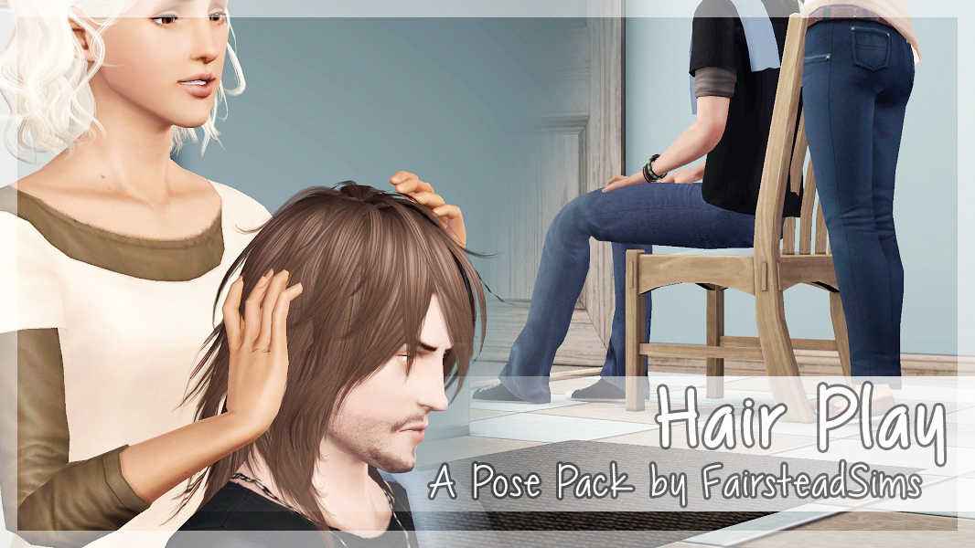 Mod The Sims Hair Play Poses
