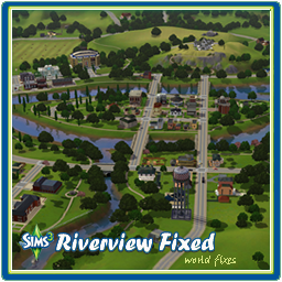 Mod The Sims - Riverview world with Fixes applied (updated