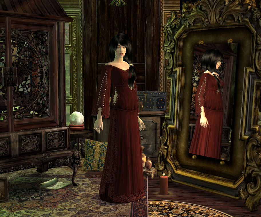 mod the sims vintage whimsy clothing and accessories