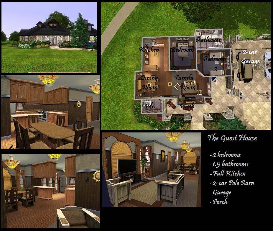 Mod the sims the watergate mansion 8 bedrooms 9 for Modern house 8 part 10