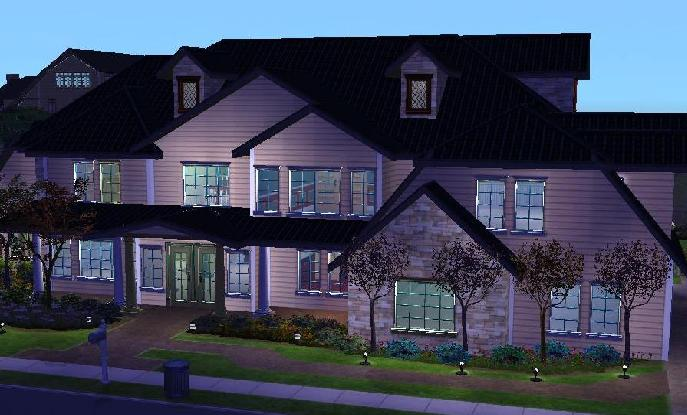 Mod The Sims Bed Bath Estate No Cc - Cool sims 3 houses