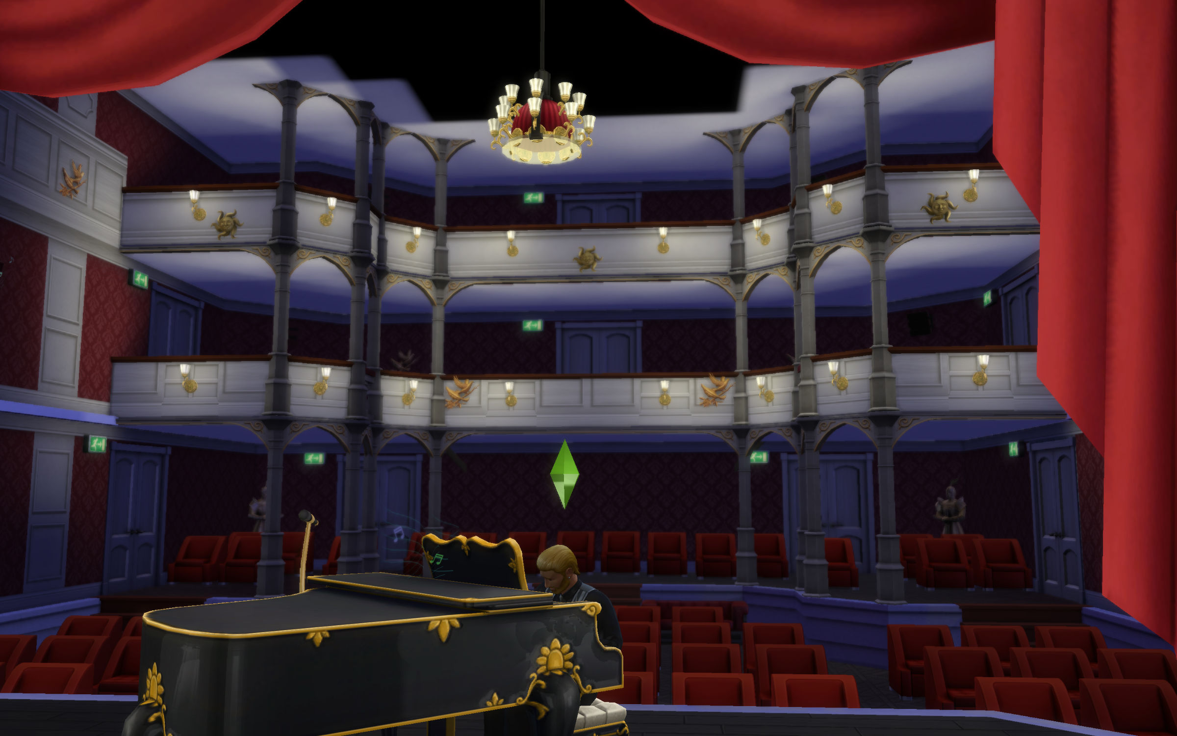 How To Build A Stage In Sims