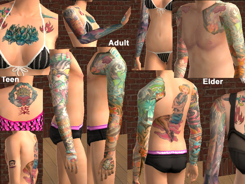 Sims 2 adult skin opinion