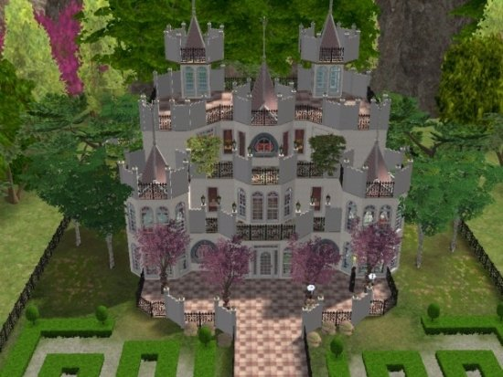 Mod The Sims Castle Moore No Expansion Packs Required