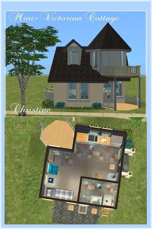 Mod The Sims Mini Starter Homes On 1x1 Lots No Custom